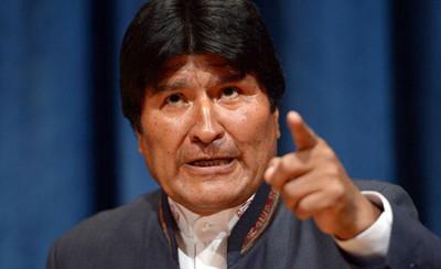 Evo Morales denuncia un golpe de Estado