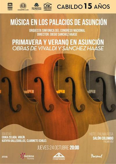 Ciclo «Música en los Palacios» estrenará nueva obra de Diego Sánchez Haase
