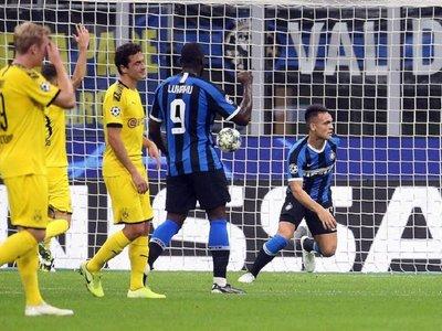 Lautaro y el Inter ganan al Borussia y anuncian batalla en Champions