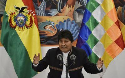 Evo Morales lleva ventaja para ganar en primera ronda al 98 % del escrutinio