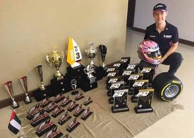 Joshua Duerksen y sus impresionantes cifras en Fórmula 4