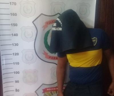 Detienen a hombre que asaltó una farmacia en Concepción