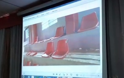 Centro Regional Saturio Ríos: Repondrán sillas rotas en el polideportivo