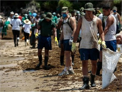 Brasil pide que Venezuela hable sobre petróleo derramado