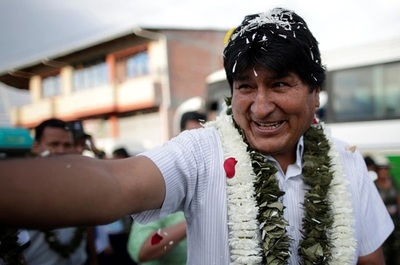 Tensión en Bolivia: declaran ganador a Evo en primera vuelta pero la OEA, la UE y la oposición reclaman que se realice el balotaje