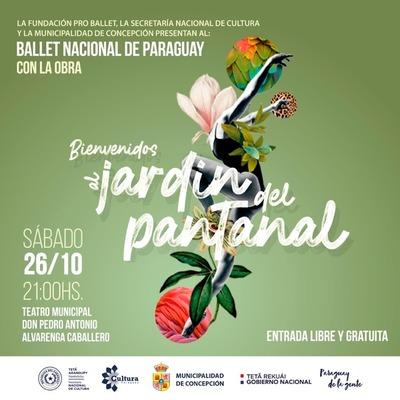 Ballet Nacional presentará en Concepción obra Bienvenidos al Jardín del Pantanal