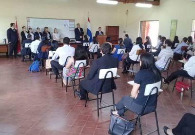 Realizaron concurso de oposición en Cordillera