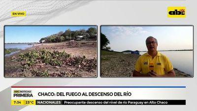 Chaco: Del fuego al descenso del río