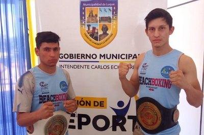 Boxeo de playa pondrá en juego 3 títulos sudamericanos en Luque