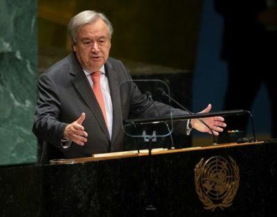 """Secretario general de la ONU apoya """"plenamente"""" auditoría electoral en Bolivia"""