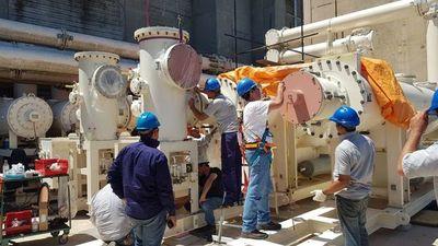 Adecuación de barras de 500 kV en Yacyretá, con un 80% de avance
