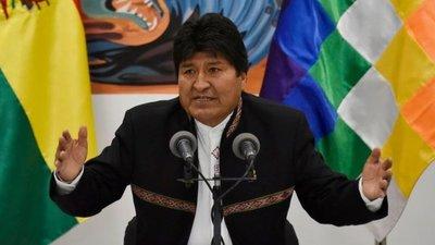 Solo tres presidentes reconocen a Evo Morales como presidente electo de Bolivia