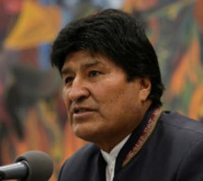 Declaran victoria de Evo Morales