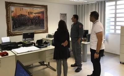 Intendente visita Guararema y planea renovar flota de buses en CDE