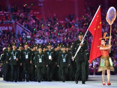 China hace trampa en los Juegos Militares y le expulsan