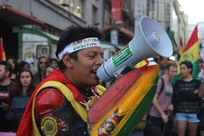 """Morales excluye cualquier """"negociación política"""" para zanjar crisis electoral  en Bolivia"""
