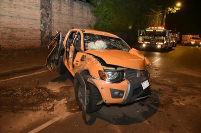 Conductor resulta gravemente herido tras accidente