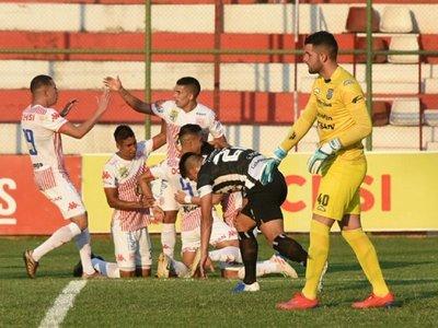San Lorenzo bate con sufrimiento a Santaní