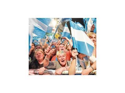 Cristina celebró y  resaltó la gran victoria