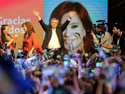 Maduro felicita a Alberto Fernández y a Cristina, su gran aliada
