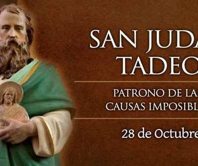 Hoy celebramos a San Judas Tadeo, patrono de las causas imposibles