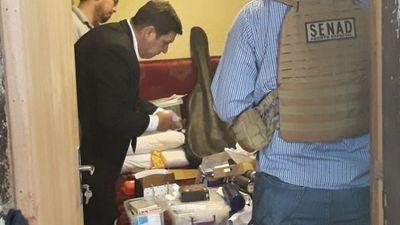 Detienen a jefe de Investigaciones de Coronel Oviedo por vínculo con el narcotráfico