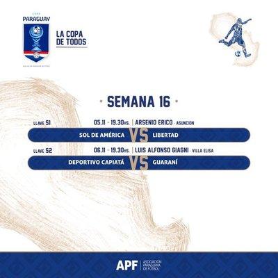 Confirman fechas para semifinales de la Copa Paraguay