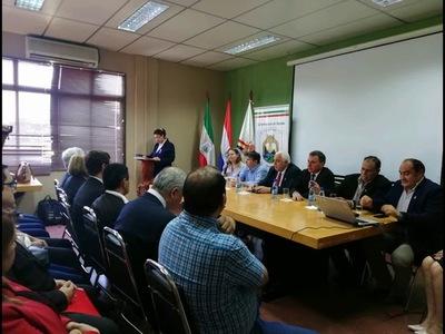 LANZAMIENTO DE PLATAFORMA WEB DE SOJA Y CARNE, Y DEL DIPLOMADO EN SISTEMA DE INFORMACIÓN GEOGRÁFICA.