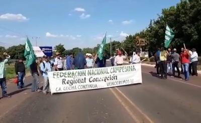 Poca convocatoria de la FNC en Horqueta