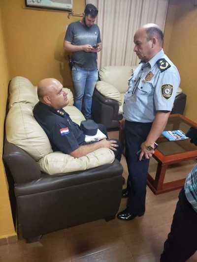 Detienen en Alto Paraná a comisario acusado de proteger a capo narco