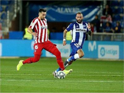 El Atlético cede empate ante el Alavés