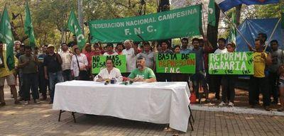 Federación campesina aclara que no se llegó a un acuerdo con el Gobierno