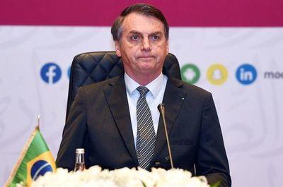 Bolsonaro se disculpa por video que compara a la Corte con hienas