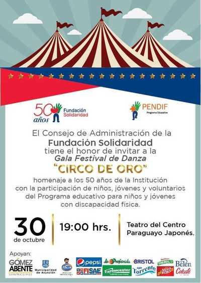 Fundación Solidaria prepara festival de Danza