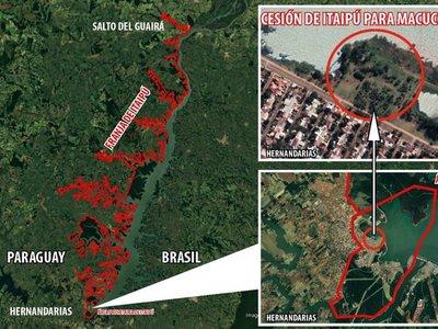 Itaipú cedió gratis  cuatro hectáreas  a una firma brasileña hasta el  2033