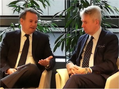 Canciller finlandés ratifica apertura para revisar refugio en caso Arrom