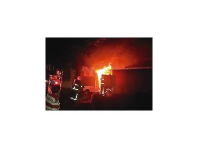 Anciano  muere en incendio de su vivienda