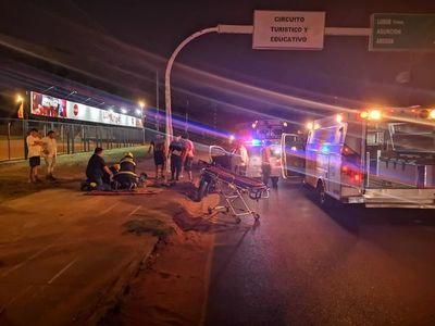 Hijo de Romerito fallece en accidente de tránsito