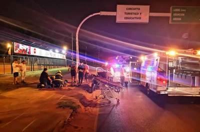 Hijo de Romerito muere en accidente en Luque •