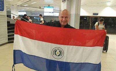 ¡Julioprofe ya se encuentra en Paraguay!