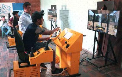Capacitan en máquinas pesadas para reconstrucción de Transchaco
