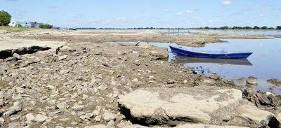 Río Paraguay tiende a seguir bajando hasta fin de año