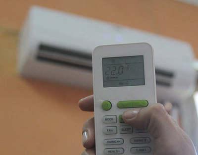 Regulá entre 22 y 25 grados el aire acondicionado para evitar cambio brusco al salir