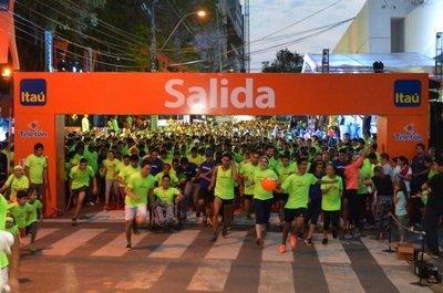 La corrida solidaria Teletón-Itaú 2019 será el 2 de noviembre en la Costanera
