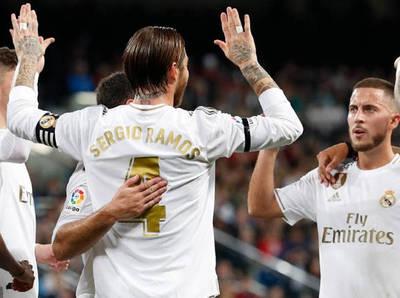 Paliza del Real Madrid al Leganés