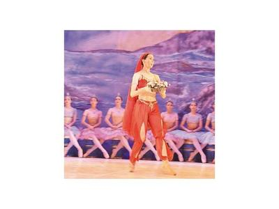Últimas funciones de la  obra de ballet La bayadera, en el Teatro Municipal