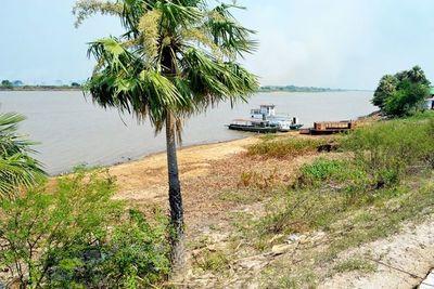 Bajante del río ya afecta la navegabilidad en el norte