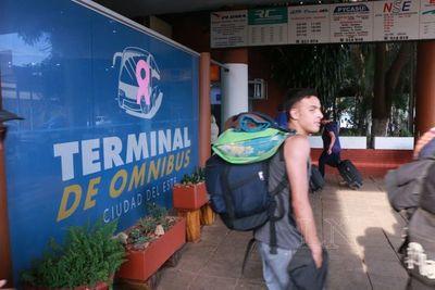 Intendencia de Ciudad del Este entrega terminal de buses a firma privada