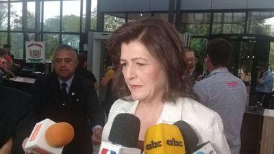 "Blanca Ovelar sobre Petta: ""Hay que ser justos"""