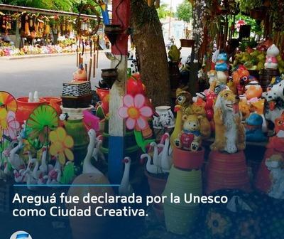 Unesco declara a Areguá como ciudad creativa